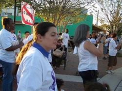 Click to view album: 2011-10-03  5th Annual March Against Domestic Violence